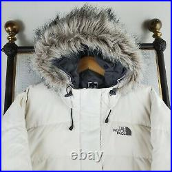 THE NORTH FACE Size Medium Womens Gotham 550 Down Filled Hooded Bomber Jacket