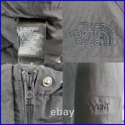 THE NORTH FACE Size Small Womens Goose Down HyVent Hooded Black Jacket Parka