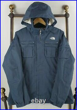 THE NORTH FACE Size Small Womens HyVent Hooded Winter Ski Jacket Coat White