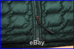 THE NORTH FACE THERMOBALL HOODIE lightweight MEN'S GARDEN GREEN JACKET L