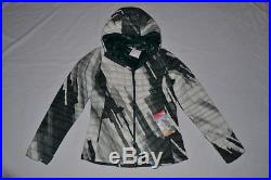The North Face Womens Thermoball Hoodie White/green XL Xlarge Authentic New