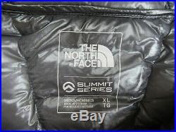 TNF Mens M, XL, The North Face Summit L3 Hoodie 800 Down ALPINE Jacket
