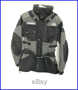 The North Face Coat Steep Tech Black Hooded Ski Skiing Jacket Size M