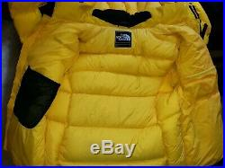 The North Face Himalayan 800 Hyvent Men's Summit Series SZ MED Yellow