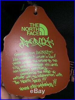 The North Face Japan X Bigfoot One Zip Up Hoody Graffiti Sz L RARE