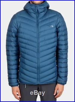 The North Face Jiyu Hoodie Men's Down Jacket M RRP£230 BNWT Blue Full zip