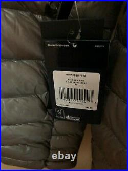 The North Face L3 Down Hoodie Nwt Men's Med Meld Grey