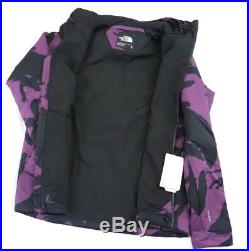 The North Face LODGEFATHER Ventrix Hoodie Jacket Size LARGE in PURPLE CAMO NWT