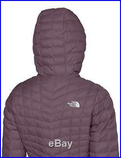 The North Face Ladies Thermoball Hoodie (Purple, Regular, XL)