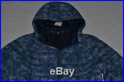 The North Face Men Thermoball Hoodie Shady Blue L Large Brand New Authentic