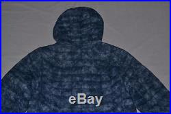 The North Face Men Thermoball Hoodie Shady Blue S Small Brand New Authentic