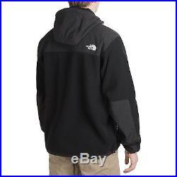 The North Face Men's Denali Hoodie Jacket Fleece Coat Black