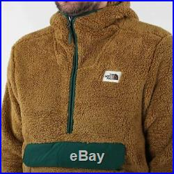The North Face Men's New Campshire Sherpa Fleece Pullover Hoody British Khaki