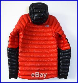The North Face Men's SUMMIT SERIES L3 DOWN HOODIE 800-Fill Climbing Jacket Red M
