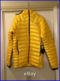 The North Face Men's Summit L3 Down Hoodie Canary Yellow MENS Small (S)