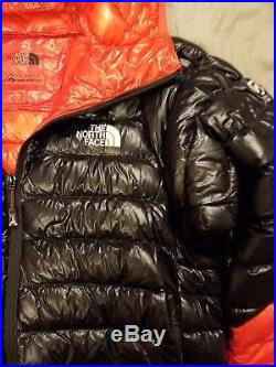 The North Face Men's Summit L3 Series Down Hoody Black/Red Size Large Medium New