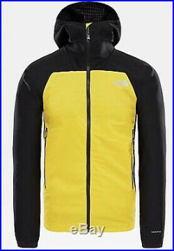 The North Face Men's Summit Series L3 Ventrix Hybrid Hoodie YellowithBlack $250