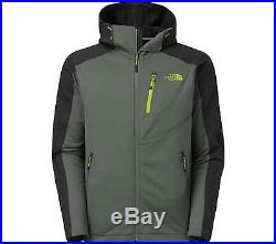 The North Face Men's Tenacious Hybrid Hoodie, Spruce Green/Tnf Black, L