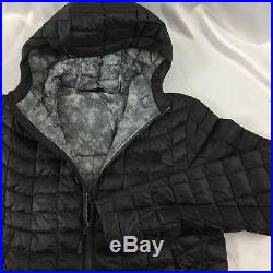 The North Face Men's Thermoball Full Zip Hoodie RTO Jacket ASPH Grey FSBXGPRPT S