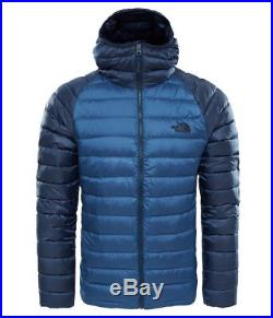 The North Face Men's Trevail Hoodie Winter Jacket Shady Blue/Urban Navy Size XXL