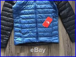 The North Face Men's Trevail hoody Jacket Small, turkish sea / urban navy