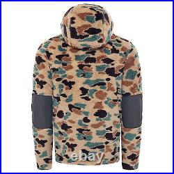 The North Face Mens 2021 Campshire Pullover Hoodie Hawthorne Khaki Duck Camo