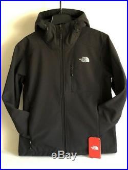 The North Face Mens Apex Bionic Hoodie Softshell Jacket Black S, M, L, Xl, 2xl