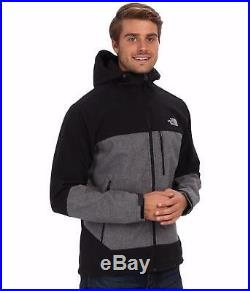 The North Face Mens Apex Bionic Jacket Hoodie Softshell Hooded Coat Sz L XL New
