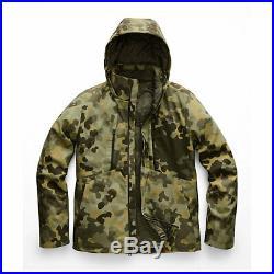 The North Face Mens Apex Elevation Green Macrofleck Camo Jacket Hoodie Sz M L XL