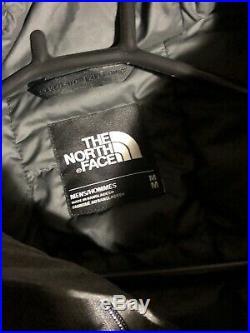 The North Face Mens Hooded Winter Jacket Gray Medium Coat