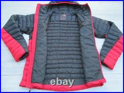 The North Face Mens Quince 800 Pro Summit Series Goose Down Hoodie Jacket M Red