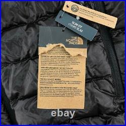 The North Face Mens Slim Fit Sierra Peak Hoody Jacket 800 Fill Down TNF Black
