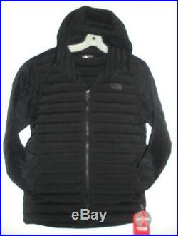 The North Face Mens Stretch Down Hoody Jacket -a3o7m- Black -s, M, L, Xl, XXL