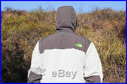 The North Face Mens Sz 2xl Denali Hoodie Heather Grey Asphalt Amymctm