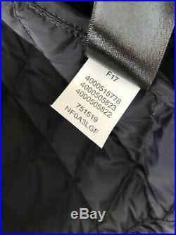 The North Face Packable Stretch Thermoball Hoodie Puffer Jacket Black XL