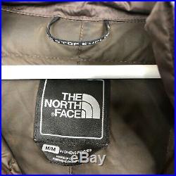 The North Face Parka Puffa Coat Metropolis Long 600 Down Fill Brown Medium