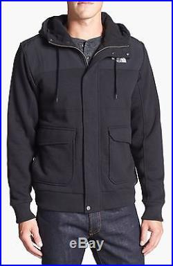 The North Face Rivington Hoodie Jacket Full Zip Black Size Large