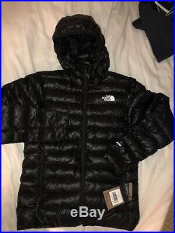The North Face Sierra Peak 800-Fill Down Hoodie Jacket Men's Small $279.00 Black