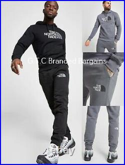 The North Face Simple Dome Mens Full Tracksuit Black Grey Hoodie Pants SMLXL NEW