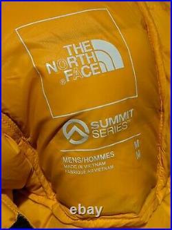 The North Face Summit L3 50/50 Down Hoodie Summit Gold Black Yellow Size Medium