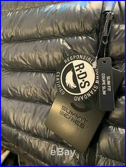 The North Face Summit L3 Down Mens Hoodie Brand New Medium Black/Grey