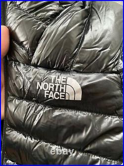 The North Face Summit Series Down Hoodie Jacket Black Large Mens