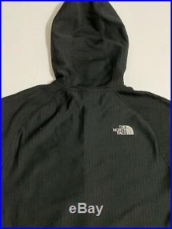The North Face Summit Series L2 Fuseform Fleece 1/2 Zip Hoodie Mens Black $200