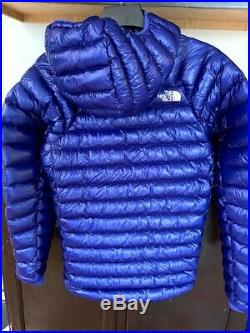 The North Face Summit Series L3 800 Down Hoodie Inauguration Blue Slim Fit SMAL