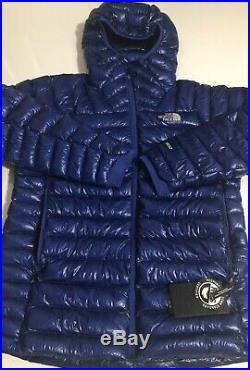 The North Face Summit Series L3 800 Down Hoodie Mens Jacket Blue Slim Fit XL