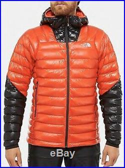 The North Face Summit Series L3 800 Down Hoodie Mens Jacket Red/Black Slim Fit