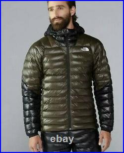 The North Face Summit Series L3 800 Fill Down Hoodie Mens Jacket $375 Small