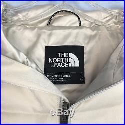 The North Face Sz L Jenae Moon Light Goose Down Parka Hoodie Jacket Coat