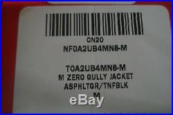 The North Face TNF Zero Gully Men's Hoody Jacket Gray Gore-Tex Waterproof Medium