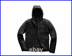 The North Face ThermoBall Hoodie TNF Black Matte Men's Jacket A3KTU-XYM Medium